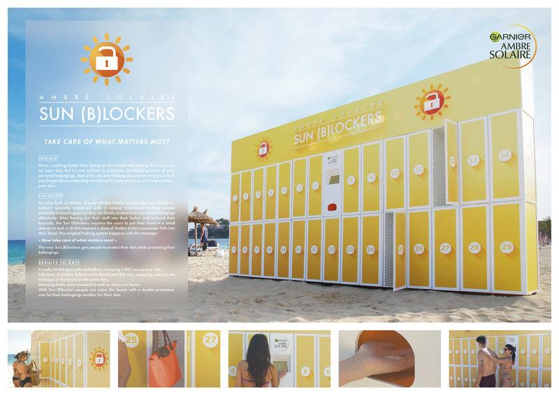 Skin-Protecting Lockers