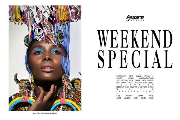Gaschette Magazine 'Weekend Special'