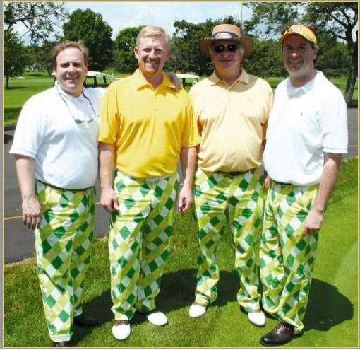 Gaudy Golfer Pants