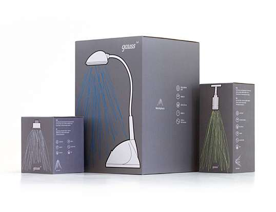 Gauss LED Packaging Concept