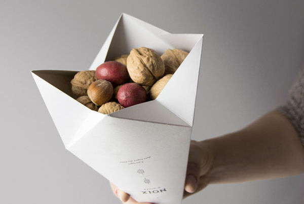Origami Snack Packaging