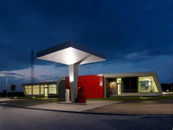 Minimalist Gas Stations