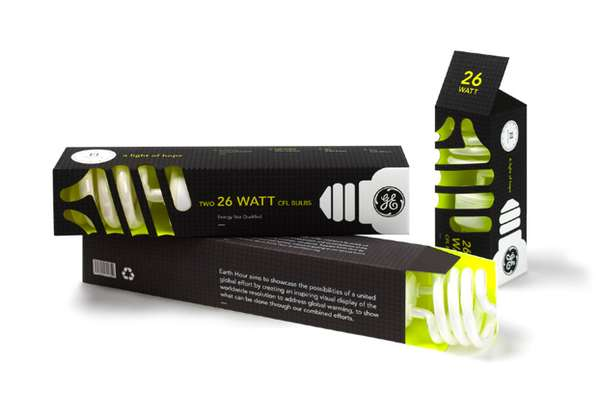 GE CFL Lightbulb Packaging