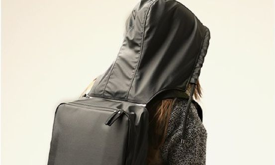 GEAR3 BY SAEN Hooded Backpack