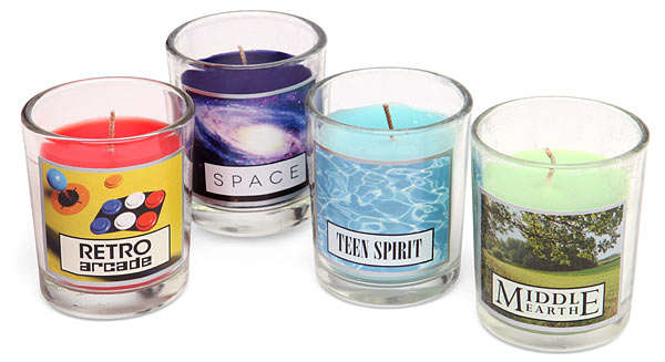 Geeky Scented Candles