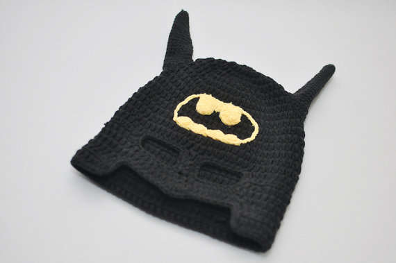 Super Hero Baby Bonnets