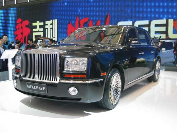 Fake Rolls Royces