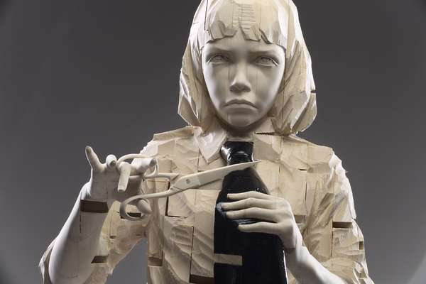 Surreal Child Sculptures