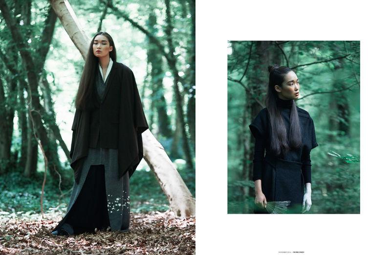Woodland Geisha Editorials