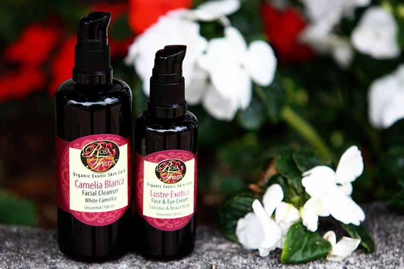 Organic Geisha-Inspired Cosmetics