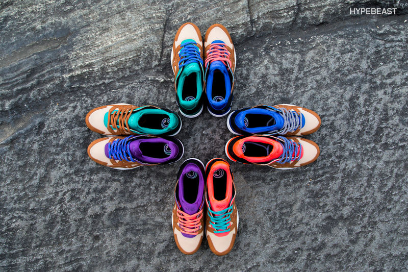 Mix-and-Match Sneakers
