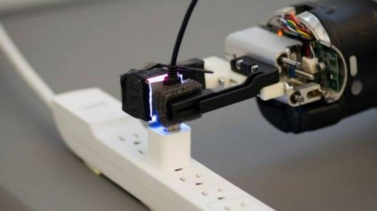 See-Through Robot Sensors