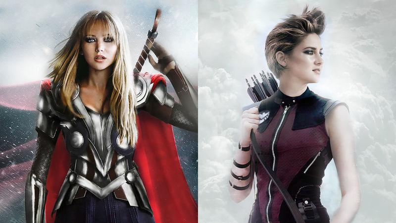Gender-Bending Superheroes