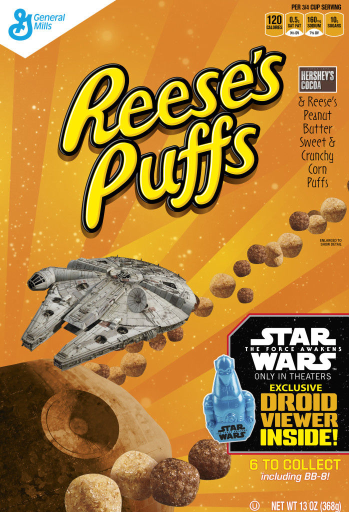 Sci-Fi Cereal Branding