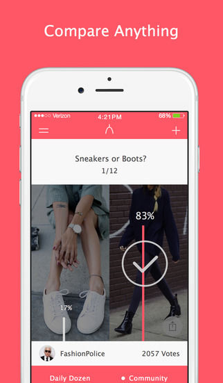 Fashion-Based Polling Apps
