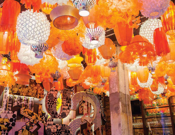 Lantern-Illuminated Interiors