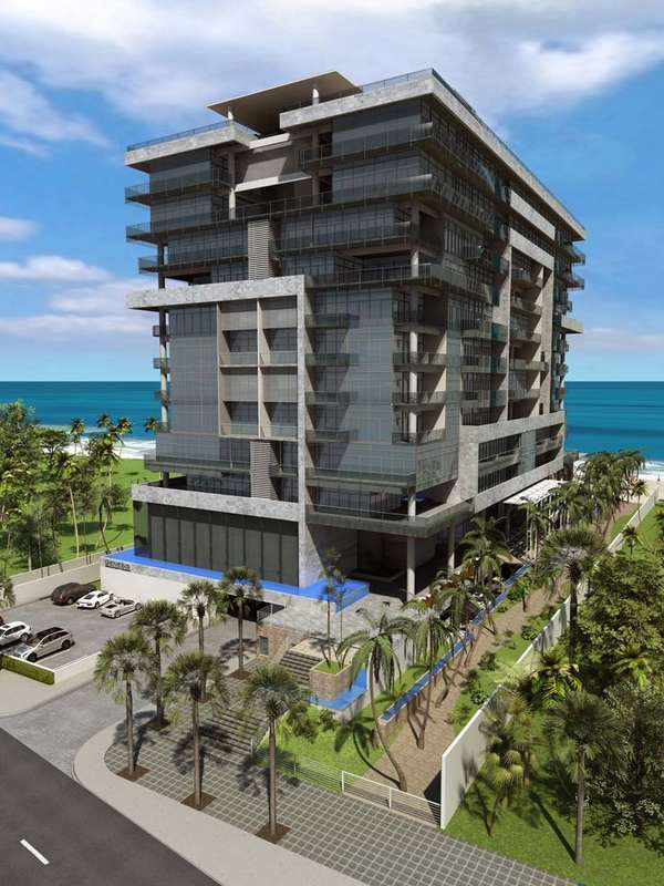 Glass Oceanfront Condos
