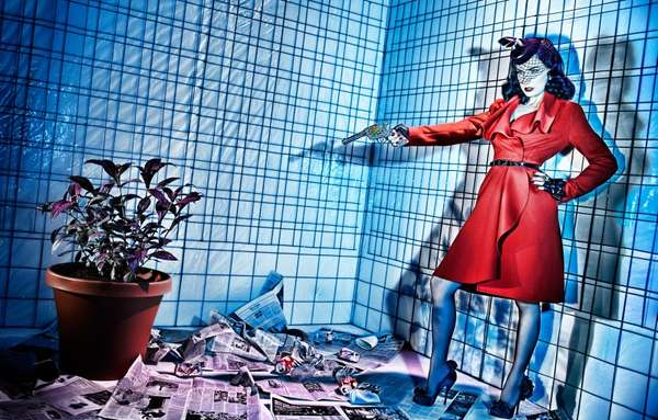 Pop-Art Fashion Editorials