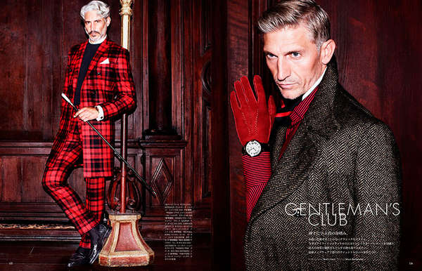 Gentleman's Club Vogue Hommes Japan