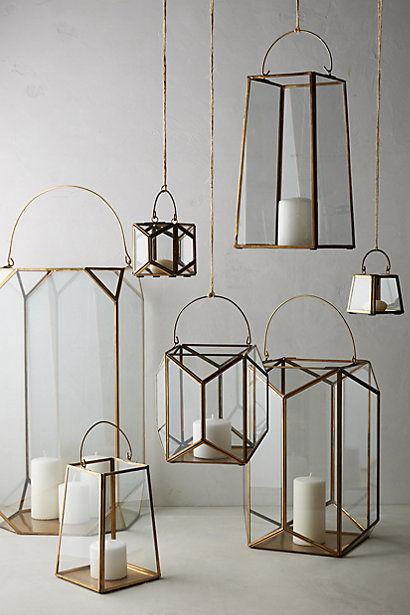 Rustic Lantern Decor