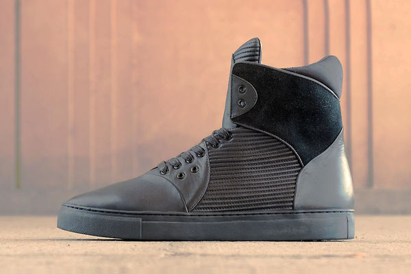 Luxe Hi-Top Trainers