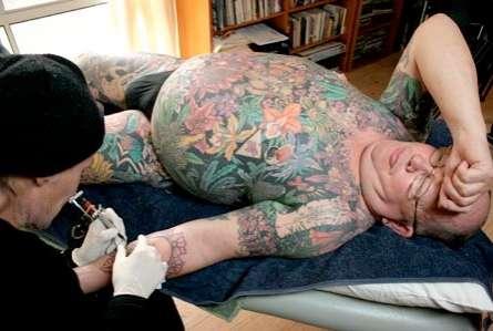 Tattooed Skin Donations