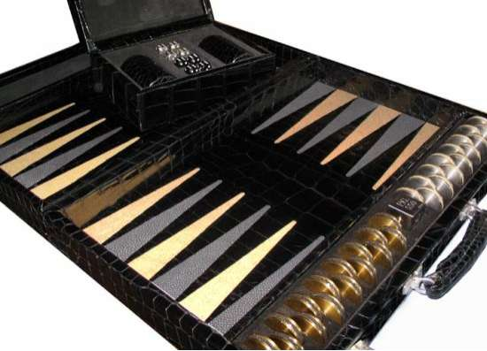 geoffrey parker alligator stingray backgammon
