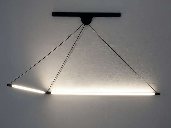 Flexible Cord-Inspired Lamps