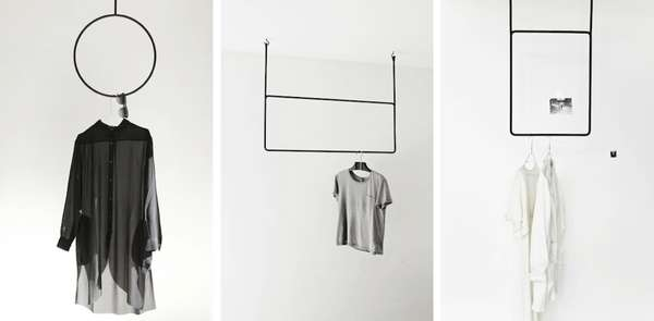 Minimalist Metal Coat Racks