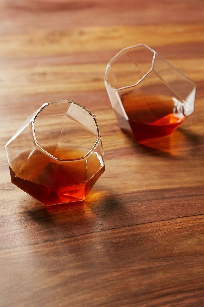 Geometric Cocktail Glasses