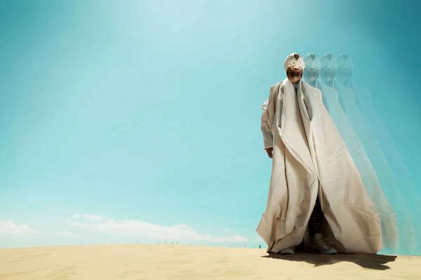 Hallucinatory Sahara Photoshoots