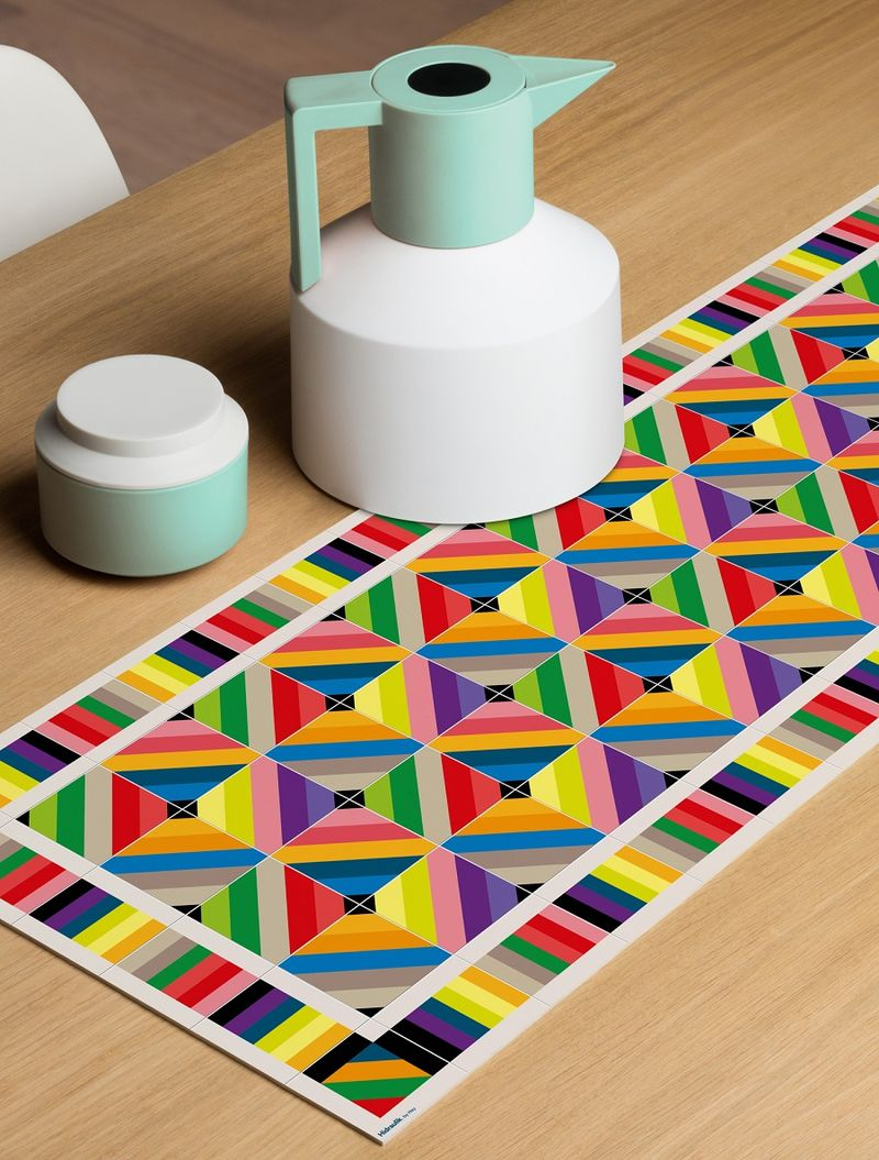 Contemporary Geometric Mats