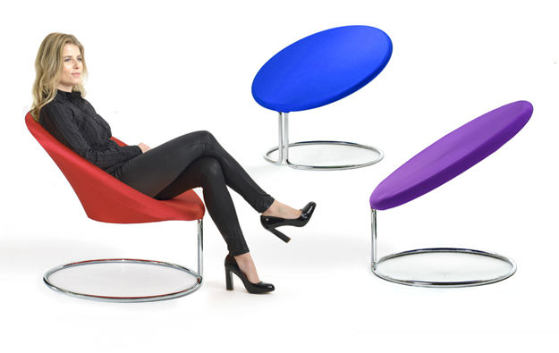 Vibrant Geometric Seating