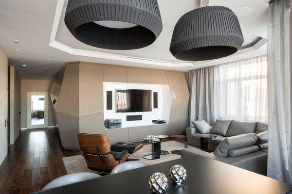 Futuristically Angular Homes