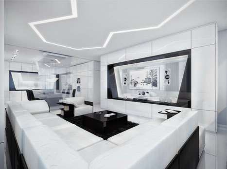 Black & White Wonder Homes