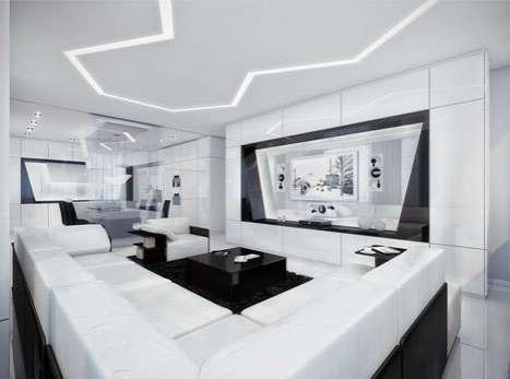 Black & White Wonder Homes