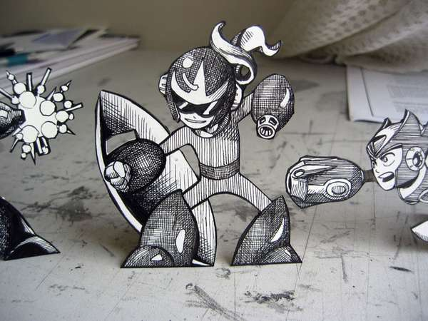 Game Fanatic Paper Figurines