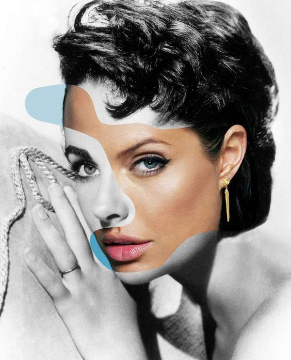 Classic Hollywood Collage Art