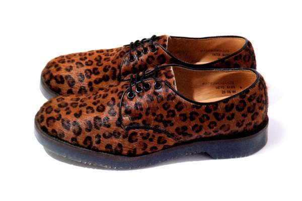 Animal Print Oxfords