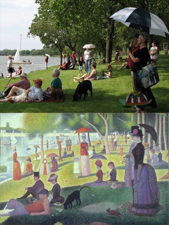 Remade Impressionist Images