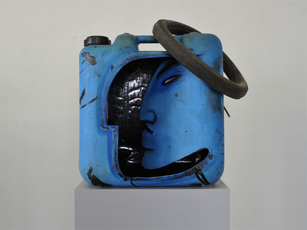 Recycled Canister Sculptures