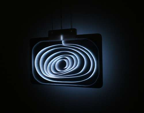 Curling Swirling Lamps