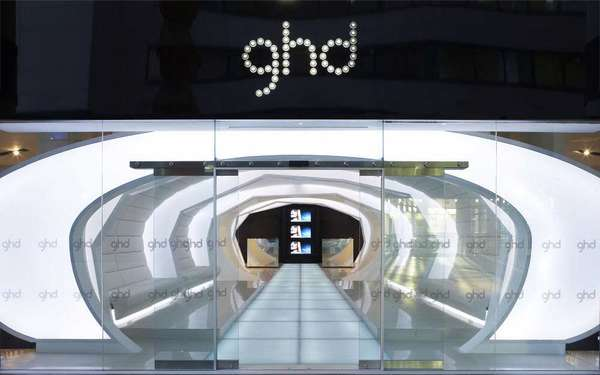 Space Age Hair Salons Ghd Headquarters Let You Prep Your