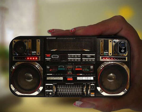 Ghetto Blaster Phone Cases