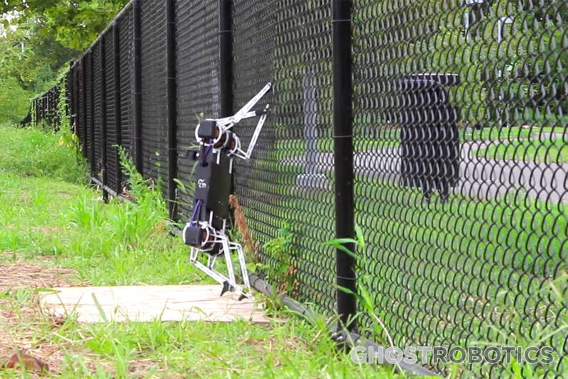 Fence-Climbing Robots