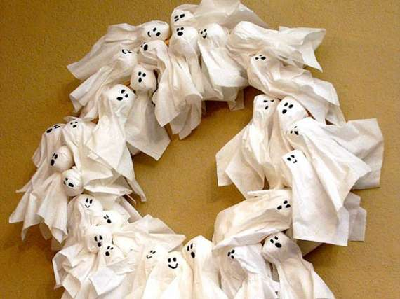ghost wreaths