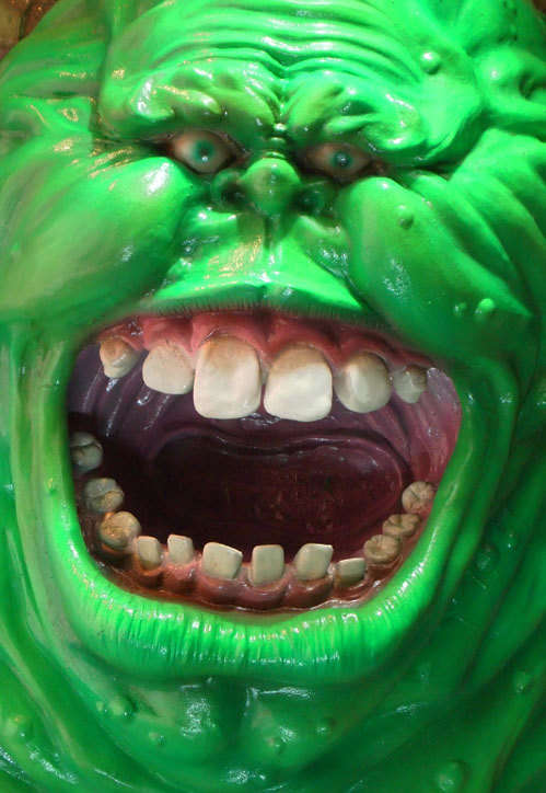 Ghostbusters Slimer Sculpture