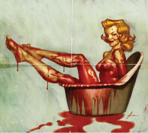 Ghoulish Pin-Ups
