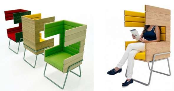 Cubicle-Style Home Furniture
