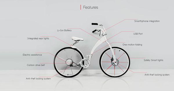 Folding Electric Smart-Bikes